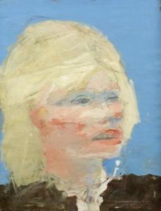 Blond Traveller by Basil Blackshaw at Bonhams in London next Wednesday.