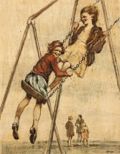 Willam Conor - On the Swings (12,000-15,000).