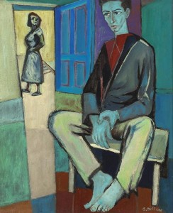 Gerard Dillon (1916-1971) - Portrait of Dan O'Neill (20,000-30,000).