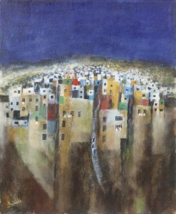 Manus Walsh b.1940 HEIGHTS OF VALPARAISO (650-900).