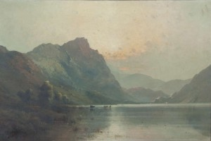 Alfred de Breanski Junior (1877 - 1957) Early Morning, Derwentwater (3,000-4,000).