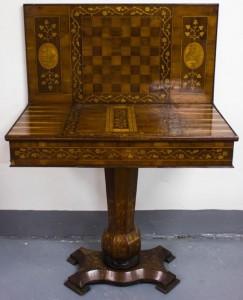 The Killarney games table.