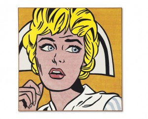 Roy Lichtenstein - Nurse - sold for $95,365,000