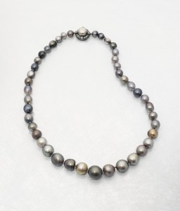 The 19th century natural coloured pearl necklace with Royal connections.