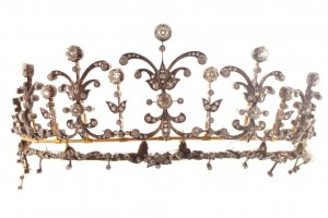A diamond tiara from the collection of the Hon. Doreen O'Brien