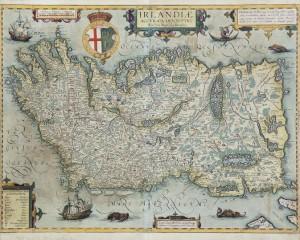 Irlandiae by Baptista Boazio (1588-1606) (4,000-6,000).