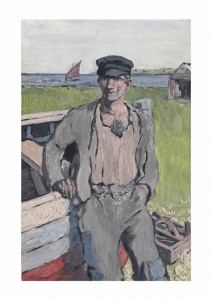 Jack Butler Yeats, R.H.A. (1871-1957) The Boat Builder sold for £422,500 at Christie's