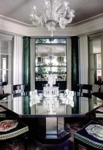 Bernard Boutet de Monvel  A mirror dining table, circa 1927 (20,000-30,000)