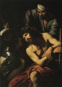 Valentin de Boulogne The Crowning with Thorns