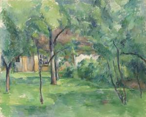 Paul Cézanne (1839-1906) Ferme en Normandie, été (Hattenville) (£4.5-6.5 million) © Christie's Images Limited 2015