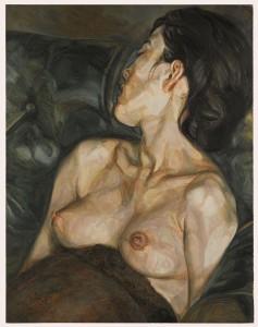 Lucian Freud - Pregnant Girl.