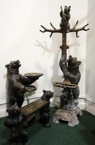 A group of Swiss carved 19th century Black Forest furniture (5,000-8,000)