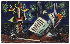 PABLO PICASSO (1881-1973) Nature morte signed and dated 'Picasso 25 Av 37' (£4-6 million) © Christie's Images Limited 2015