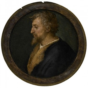 Raffaello Sanzio, called Raphael Profile Portrait of Valerio Belli, Bust Length, Facing Left
