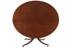 Large Regency centre table (600-900).