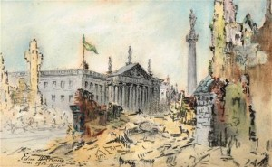 Dublin after the Rising.