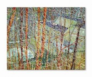Peter Doig - The architect's home in the ravine.