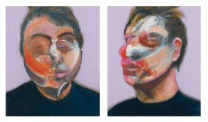 Francis Bacon - Two Studies for a Self-Portrait (1970)