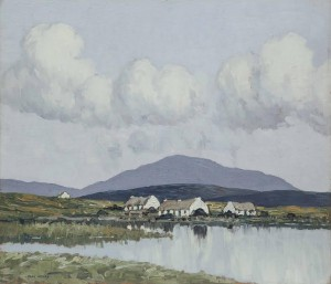 A Connemara Village by Paul Henry