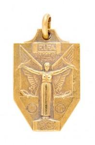 PELÉ 1958 FIFA WORLD CUP WINNER'S MEDAL