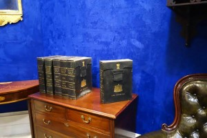 Six bound volumes of the 1844 Ordnance Survey of Ireland