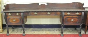 A Regency sideboard (4,000-6,000).