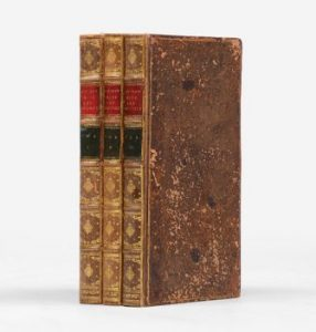 1st edition, 1813, Pride and Prejudice: A Novel in three volumes.