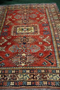 A Kazakh rug
