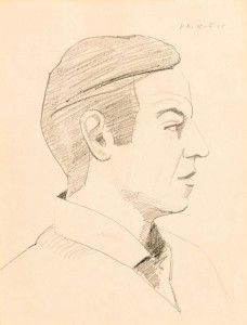 Alex Katz (b1927) - Self Portrait (6,000-8,000)