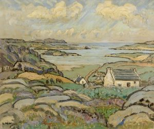 Letitia Marion Hamilton - Bunbeg, Co. Donegal (c1949) sold for 15,000 at hammer.