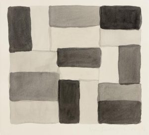 Sean Scully - 3,17.02 sold for 29,000 at hammer.