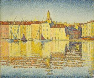 Paul Signac - Maisons du port, Saint-Tropez