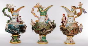 These Meissen ewers made 53,000 in total.