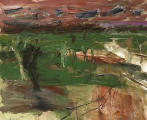 Basil Blackshaw – Six Miles Valley  sold for 13,000 at Whyte's in Dublin last November.