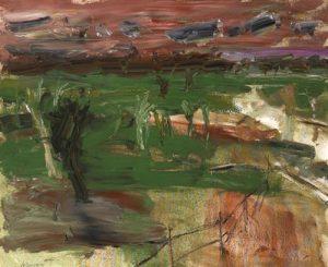 Basil Blackshaw – Six Miles Valley  sold for 13,000 at Whyte's in Dublin last November.