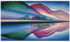 Georgia O'Keeffe (1887-1986) Lake George Reflection © 2016 Georgia O'Keeffe Museum / Artists Rights Society (ARS), New York