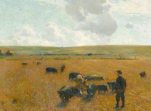 Walter Osborne - Joe the Swineherd 1890 (60,000-80,000)