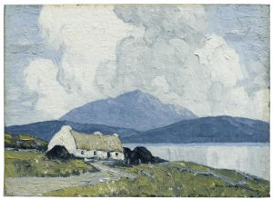 Paul Henry  (1876-1958) - The Cottage by the Lake (£30,000-50,000)