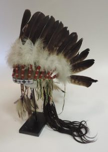 The llate 19th Century / early 20th Century Native American Indian Headdress