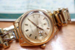 A 1960 Rolex watch