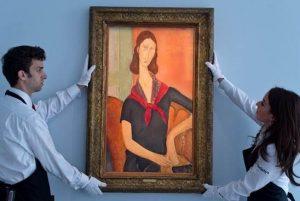 Amedeo Modigliani - Jeanne Hébuterne (au foulard)