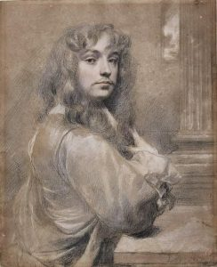 Sir Peter Lely's self portrait.