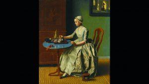 Jean Etienne Liotard - A Dutch Girl at Breakfast