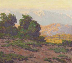 ALFRED MITCHELL (AMERICAN, 1888-1972)          - Sunset Glow ($10,000-15,000)
