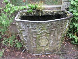 A water cistern from 1776