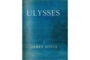 This first edition of Ulysses made 9,500 at hammer.