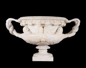 The monumental Warwick Vase.