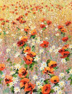 Kenneth Webb RWA FRSA RUA (b.1927) Wild Meadow oil on canvas (4,000-6,000)