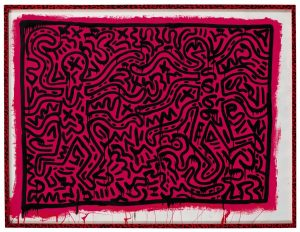 Keith Haring - Untitled 1982 (£200,000-300,000)