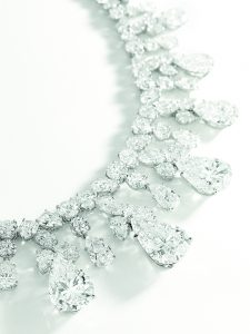 Harry Winston diamond necklace
